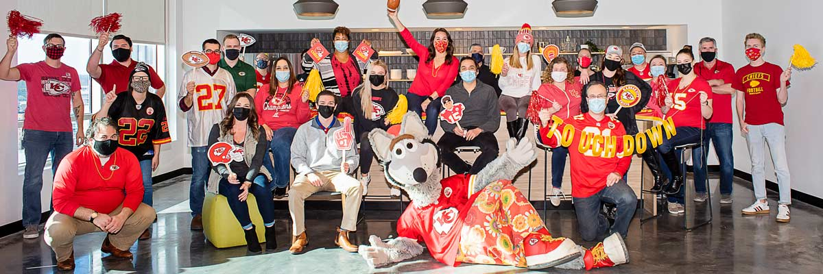 Pulse Celebrates Red Friday with KC Wolf Image